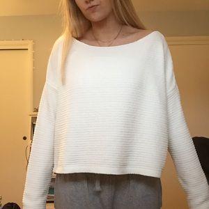 GARAGE Boxy Chenille Sweater